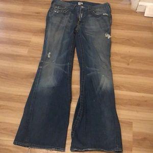 Men's True Religion World Tour Jeans 34/33